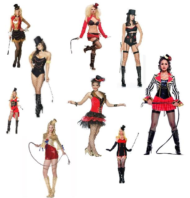 Without a doubt the most popular circus costume ...  sc 1 st  Decadence and Deviance - WordPress.com & Halloween Harlots « Decadence and Deviance