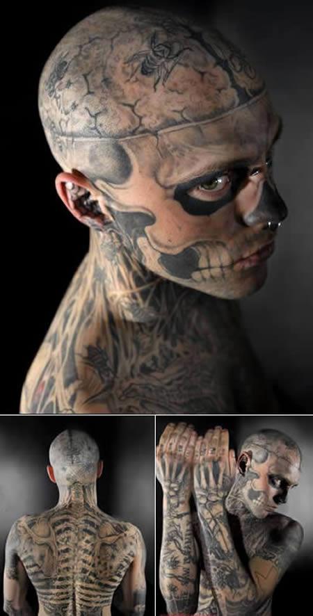 rick genest zombie boy - photo #12