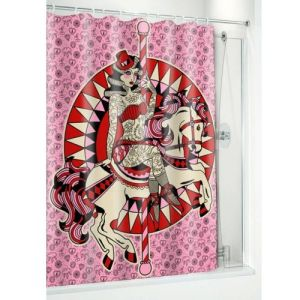 carousel-horse-pinup-shower-crutain
