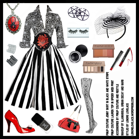 pinup_couture_vintage_goth_pinup_capsule_colletion